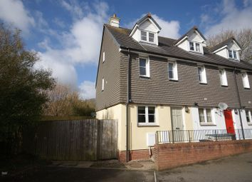 Thumbnail 3 bed town house for sale in Tryelyn, Bodmin