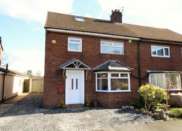 Thumbnail 3 bed semi-detached house for sale in Lindle Crescent, Hutton, Preston