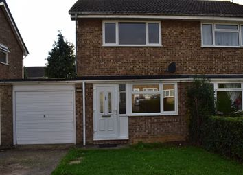 Thumbnail 2 bed semi-detached house to rent in The Lees, Deeping St James, Peterborough