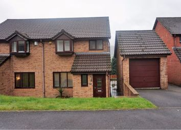 Thumbnail 3 bed semi-detached house for sale in Nant-Y-Mynydd, Pontypridd