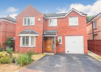 Thumbnail 4 bed detached house for sale in Grandfield Way, North Hykeham, Lincoln