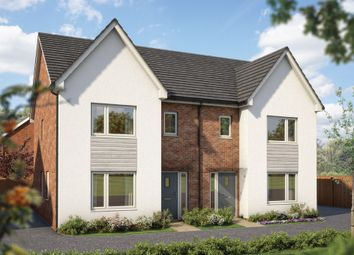 """Thumbnail 3 bed semi-detached house for sale in """"The Cypress"""" at Silverwoods Way, Kidderminster"""