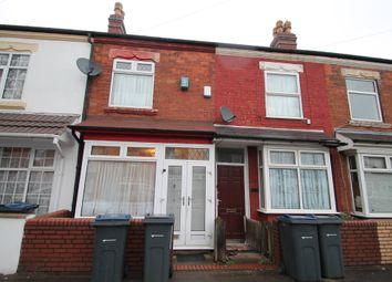 Thumbnail 2 bedroom terraced house to rent in Preston Road, Birmingham