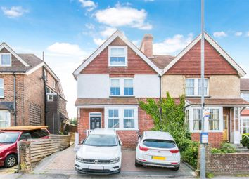 Thumbnail 4 bed semi-detached house for sale in Hailsham Road, Heathfield