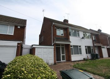 Thumbnail 3 bed property for sale in Knoll Drive, Styvechale, Coventry