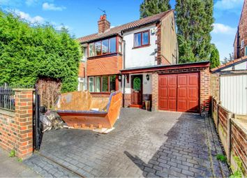 Thumbnail 3 bed semi-detached house for sale in Eyam Grove, Stockport