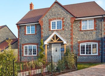 "Thumbnail 4 bed property for sale in ""The Welwyn"" at Knight Road, Wells"