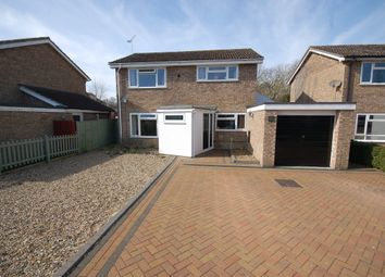 Thumbnail 4 bed detached house for sale in Hardy Close, Thetford, Norfolk