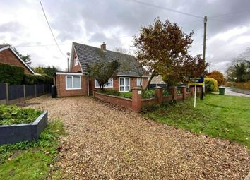 Thumbnail 3 bed bungalow for sale in Gressenhall, Dereham, Norfolk