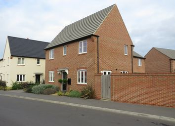 Thumbnail 3 bed semi-detached house for sale in Rowell Way, Sawtry, Huntingdon