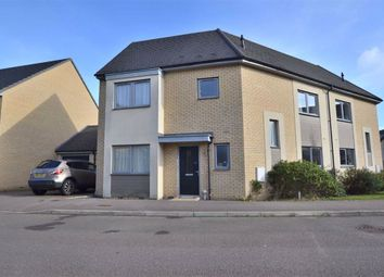Thumbnail 4 bed semi-detached house for sale in Glanville Crescent, Chrysalis Park, Stevenage, Herts
