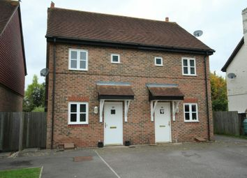 Thumbnail 2 bed semi-detached house for sale in Holders Close, Billingshurst