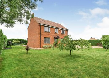 Thumbnail 3 bed detached house for sale in West Head Road, Stow Bridge, King's Lynn