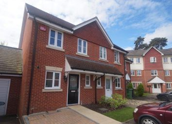Thumbnail 2 bedroom end terrace house for sale in Royal Drive, Bordon