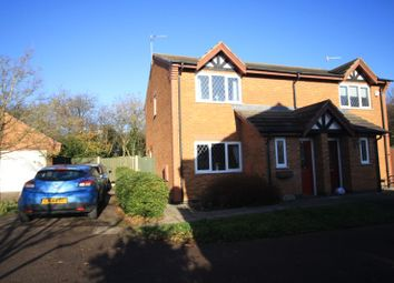 Thumbnail 3 bed semi-detached house for sale in Butler Way, Sileby, Leicestershire