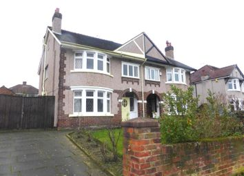 Thumbnail 4 bed semi-detached house for sale in Kings Road, Higher Bebington