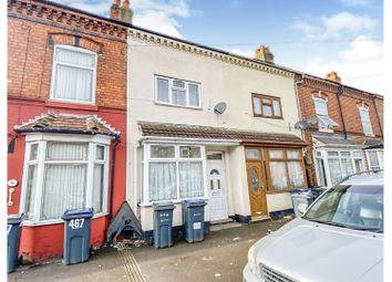 3 bed terraced house for sale in Charles Road, Small Heath, Birmingham B9