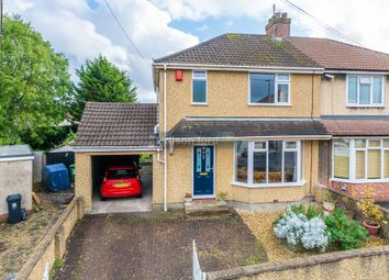Thumbnail 4 bed semi-detached house for sale in Russell Avenue, Bristol
