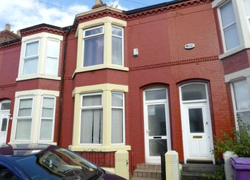 Thumbnail 2 bedroom terraced house for sale in Langton Road, Wavertree, Liverpool
