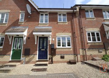 2 bed terraced house for sale in Swallowtail Close, Pinewood, Ipswich IP8