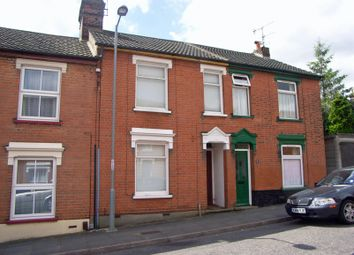 Thumbnail 3 bed terraced house to rent in Seymour Road, Ipswich