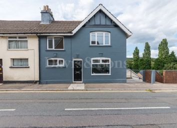 Thumbnail 3 bed semi-detached house for sale in Tregwillym Road, Rogerstone, Newport.