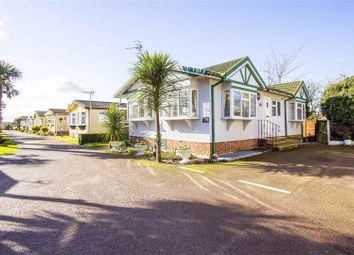 Thumbnail 2 bed detached bungalow for sale in Foxhunter Residential Caravan Park, Monkton Street, Monkton, Ramsgate