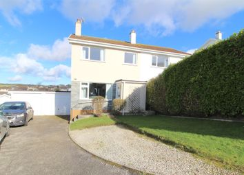 Thumbnail 3 bed semi-detached house for sale in Trenance Close, Helston