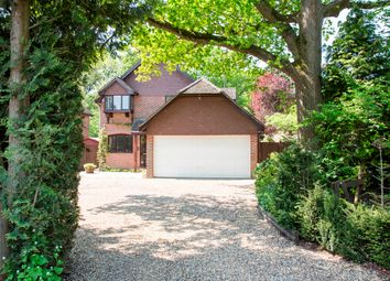 Thumbnail 4 bed detached house for sale in Reading Road, Hound Green, Hook
