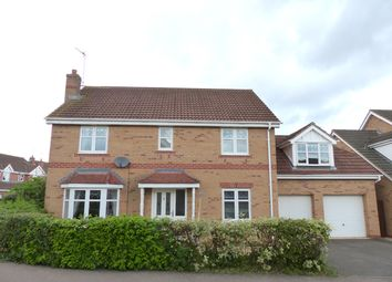 Thumbnail 5 bed detached house for sale in Humber Drive, Peterborough