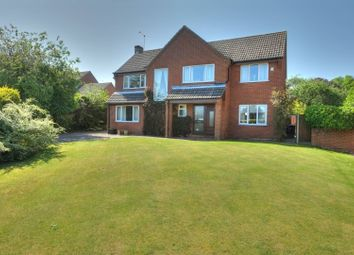 Thumbnail 4 bed detached house for sale in Oaklands Park, North Walsham