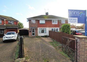 Thumbnail 3 bed semi-detached house for sale in Skilton Road, Tilehurst, Reading, Berkshire