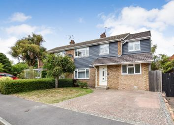 Thumbnail 5 bed semi-detached house for sale in Unwin Close, Aylesford