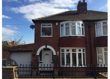 Thumbnail 3 bed semi-detached house for sale in Lynwood Crescent, Leeds