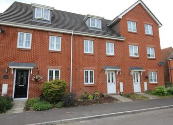 Thumbnail 3 bed town house for sale in Vixen Drive, Aldershot