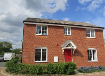 Thumbnail 4 bedroom detached house for sale in Kelburn Road, Orton Northgate, Peterborough