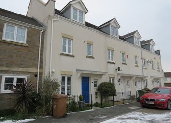 Thumbnail 4 bed town house for sale in Barlow Gardens, Plymouth
