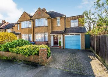 Thumbnail 4 bed semi-detached house for sale in Selwood Road, Chessington, Surrey