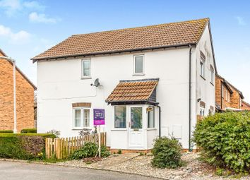 Thumbnail 1 bedroom semi-detached house for sale in Wheelers Green Way, Thatcham