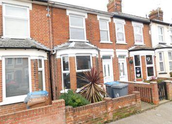 Thumbnail 2 bedroom terraced house to rent in Maidstone Road, Felixstowe