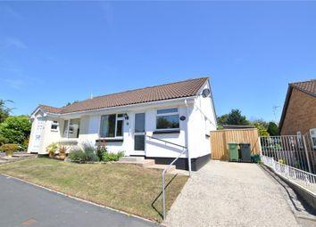 Thumbnail 2 bed semi-detached bungalow for sale in Ash Road, Kingsteignton, Newton Abbot, Devon