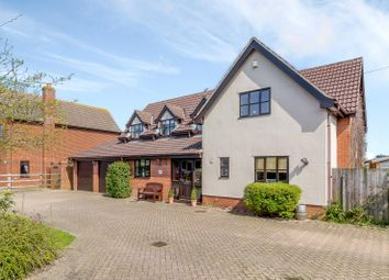 Thumbnail 4 bed detached house for sale in Norwich Road, Little Stonham, Stowmarket