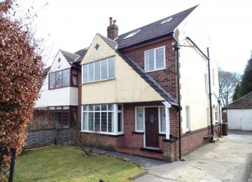 Thumbnail 5 bed semi-detached house to rent in Alwoodley Lane, Leeds