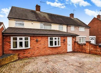 Thumbnail 4 bed semi-detached house for sale in Old Croft Lane, Shard End, Birmingham, West Midlands