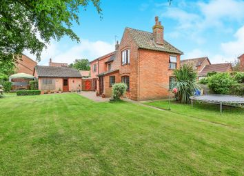 Thumbnail 5 bed detached house for sale in Stubbs Green Lane, Loddon, Norwich