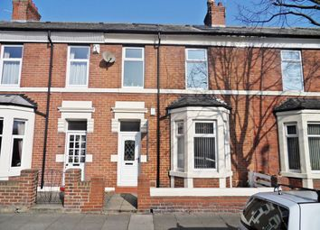 Thumbnail 4 bedroom terraced house for sale in Queen Alexandra Road, North Shields