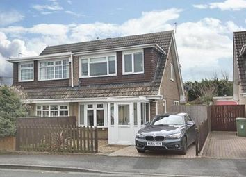 Thumbnail 3 bed semi-detached house for sale in Burnmoor Drive, Eaglescliffe, Stockton-On-Tees