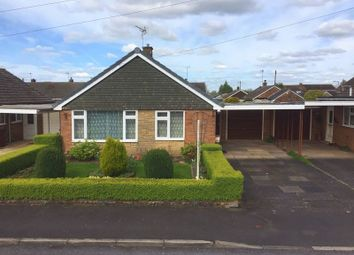 Thumbnail 2 bed detached bungalow for sale in Lavender Close, Great Bridgeford, Staffordshire