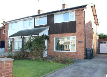 Thumbnail 3 bed semi-detached house to rent in Hallfields Road, Tarvin