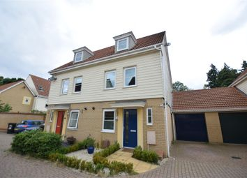 Thumbnail 3 bed property to rent in Silvo Road, Costessey, Norwich